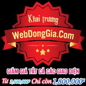 Khai trương Webdonggia.com