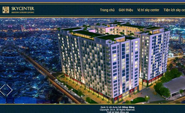 Giao diện bất động sản 020