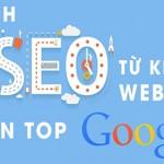 Cách SEO từ khóa website lên google đứng top nhanh