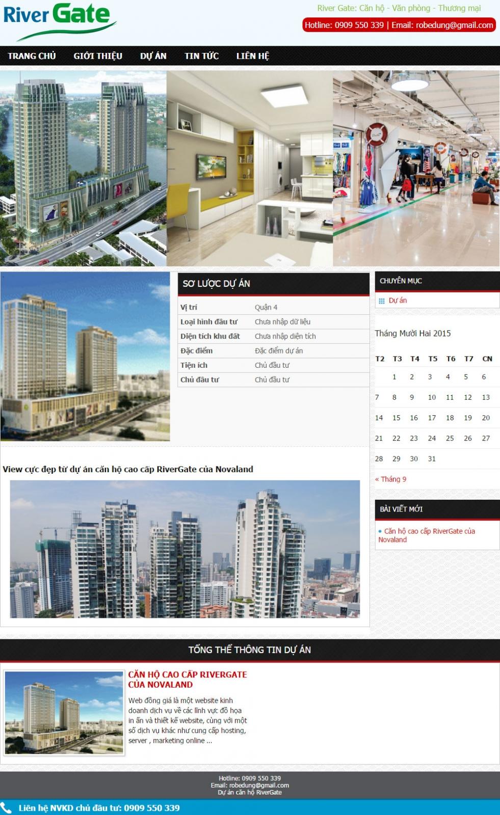 Giao diện bất động sản 010 - webdonggia.com