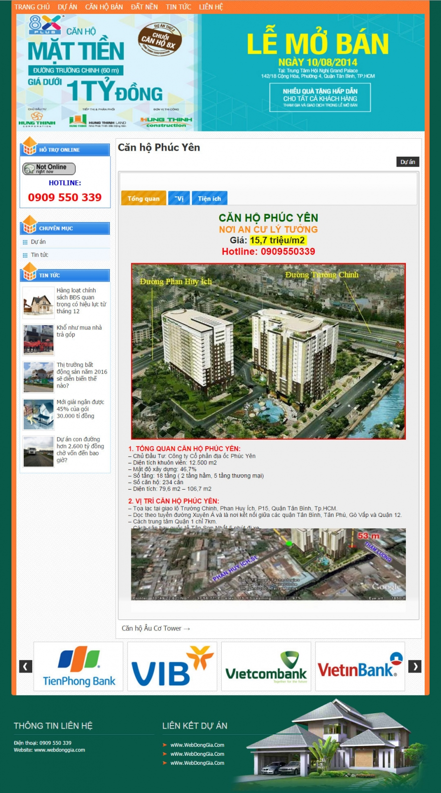 Giao diện bất động sản 011 - webdonggia.com