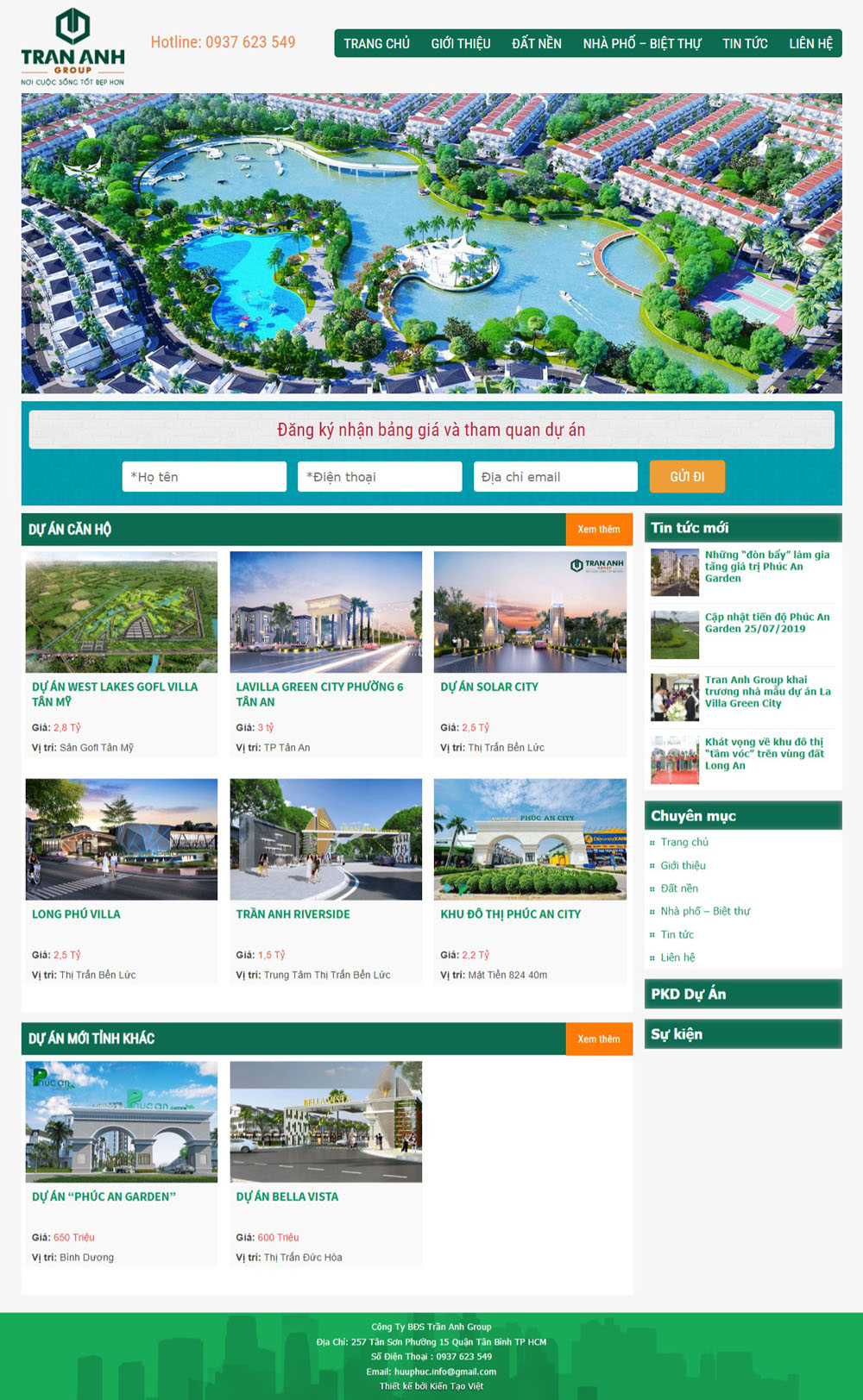 Giao diện bất động sản 029