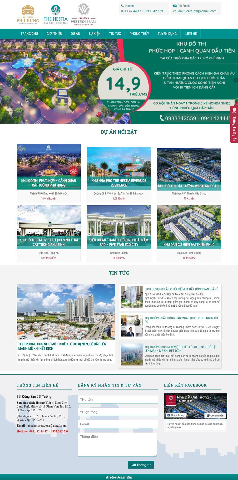 Giao diện bất động sản 035